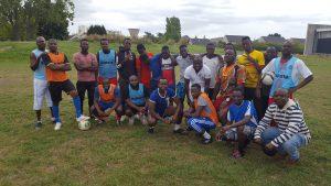 mini tournoi avec les Guinéens