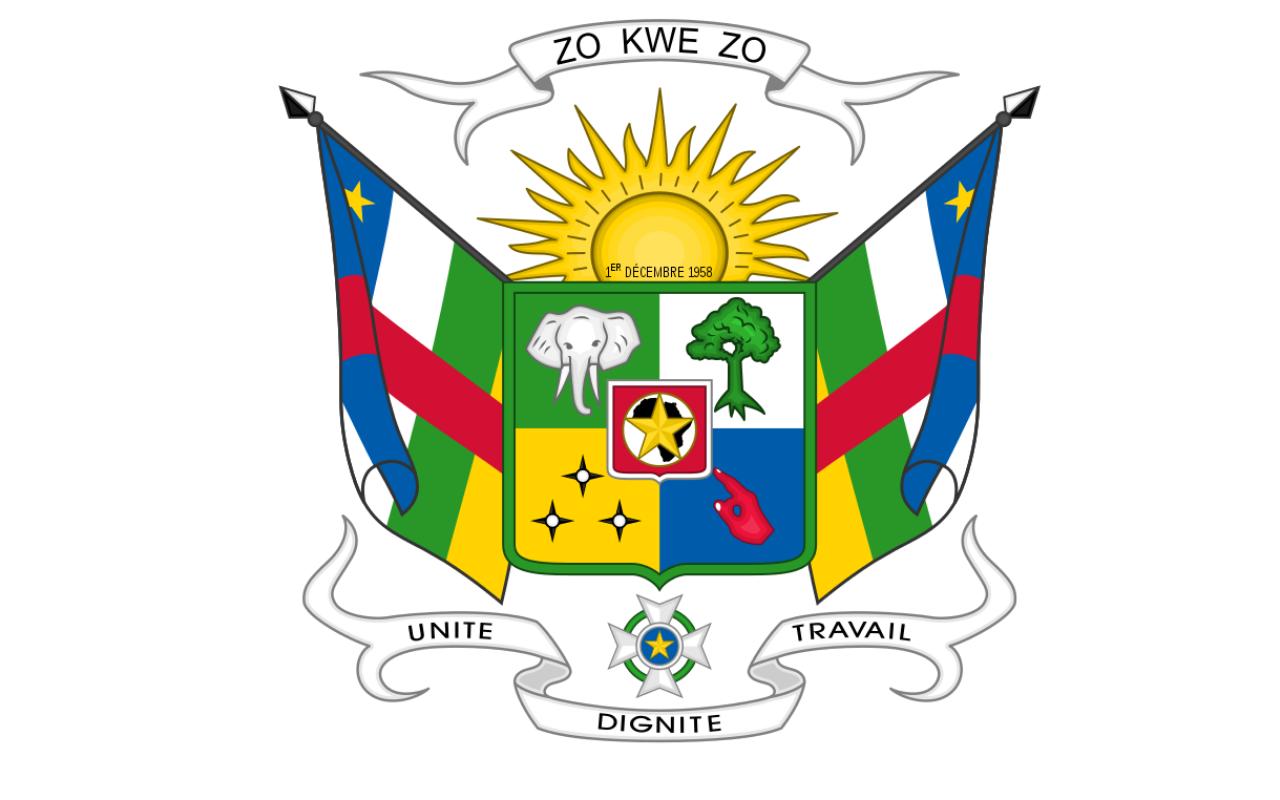 armoirie de la centrafrique