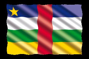 drapeau de la RCA